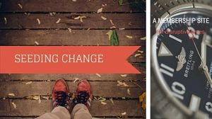SEEDING CHANGE Thinkific Membership Card