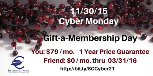 Cyber Monday 2 for 1 Sale